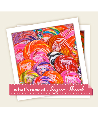 what's new at Sugar Shack